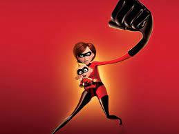 The Incredibles Cartoon Violet