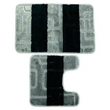 gray bath rug black bathroom rug set light gray bath rugs