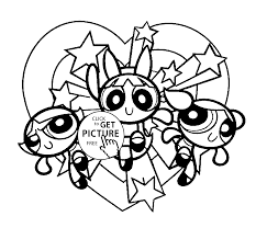 Small Picture Powerpuff girls on vacation coloring pages for kids printable free
