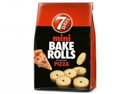 Bake Rolls Mini Pizza 7 Days 160 G E Freshgr