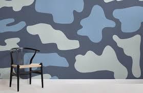 loyd abstract camo wallpaper mural