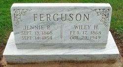 "Jane Priscilla ""Jennie"" Spencer Ferguson (1868-1954) - Find A Grave Memorial"