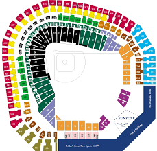 Ballpark At Arlington Seating Chart Texas Rangers Ballpark Seating Chart With Rows Best