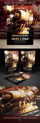 Anniversary Flyer Template Graphics Designs Templates