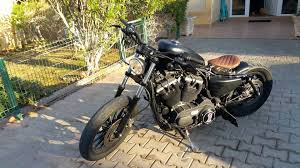 harley davidson sportster 883 old school bobber youtube