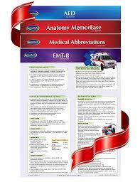 Amazon Com Emt 4 Chart Guide Bundle Emergency Medical