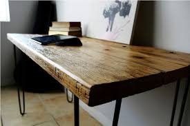 Image of: Make A Wooden Desk