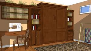 office with murphy bed. Home Office Wall Bed System With Murphy T