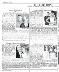 Newspaper Engagement Announcement Templates Newspaper Wedding Announcement Template Barrest Info