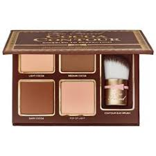 too faced cocoa contour kit perfect for wearing separately or blending together this curated