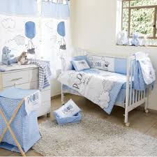 Disney Blue Winnie The Pooh Play Crib Bedding Boys Crib Bedding