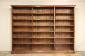 Large 19th Century Antique Open Pine Shelving.