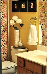 Bathroom  Original Brian Patrick Flynn Small Bathroom Bold Colors - Small apartment bathroom decor