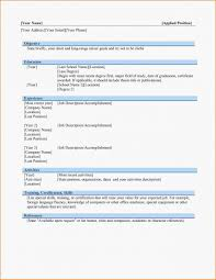 Chronological Resume Chronological Resume Template Sample How To