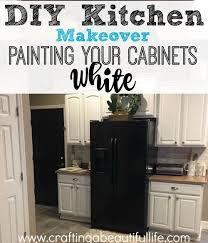 Kitchen Articles Chart Diy Kitchen Makeover Painting The Cabinets White Yourself