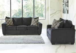 Brothers Fine Furniture Wixon Slate Sofa and Loveseat