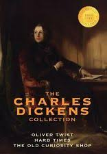 oliver twist old book  the charles dickens collection 3 books oliver twist hard times and