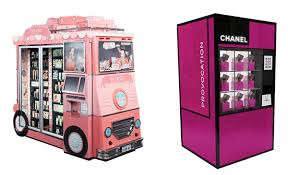 Chanel Vending Machine Adorable Push A48 For Mascara Not Your Average Vending Machine Sidewalk
