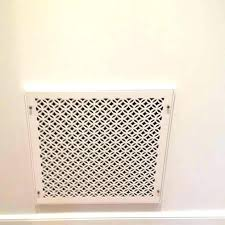 wood return air grille decorative vent covers wall sidewall