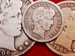 1961 Half Dollar Value Chart Value Rarity Of Barber Dime Quarter Half Dollar