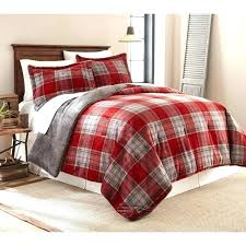 red plaid duvet cover medium size of covers buffalo cuddl duds flannel set