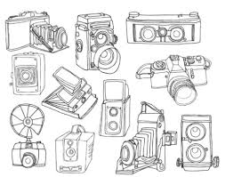 Small Picture 254 best Retro cameras images on Pinterest Camera drawing