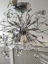 john lewis nebula 24 crystal chandelier ceiling light in bordesley