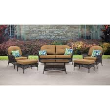 san marino 6 piece seating set in country cork smar 6pc tan