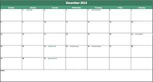 Excel Calendar Template 2013 Excel 2013 Calendar Template Bonnemarie Info