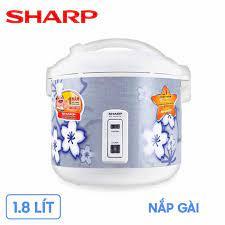 Nồi cơm điện Sharp KS-181ETV-SL (1.8 lít, nắp gài) – Mua Sắm Điện Máy - Hệ  Thống Bán Lẻ Hàng Điện Máy Chính Hãng