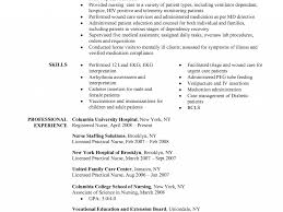 Sample Registered Nurse Resume Ajrhinestonejewelry Com