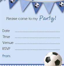 Free Football Invitation Templates Free Birthday Invitation Templates Photo Party With