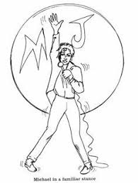 Michael Jackson Smooth Criminal Coloring Pages Scootershd
