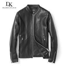 men genuine leather jackets high quality sheepskin leather coat autumn 2018 new vintage male biker jacket