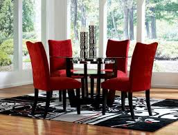 Dining Room:Charming Red Dining Room Chairs Stupendous Uk Fantastic Canada Red  Dining Room Chairs