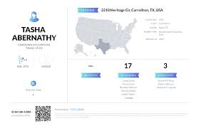 Tasha Abernathy, (469) 892-4188, 2210 Heritage Cir, Carrollton, TX ...