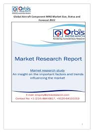 Market Research Unique Global Aircraft Component MRO Market Analysis And Industry Research R