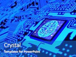 Powerpoint Circuit Theme Top Machine Learning Powerpoint Templates Backgrounds