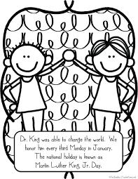Best Images Of Martin King Worksheets Kindergarten Com Free ...