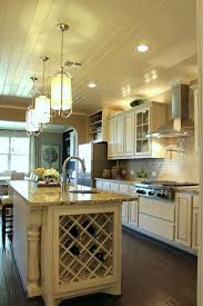 bone color kitchen cabinets kitchen with island wine rack in bone with black glaze kitchen cabinets