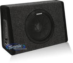 kicker 11pt8 100w sealed amplified loaded sub enclosure product kicker 11pt8 pt8