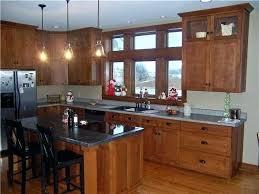 quarter oak cabinets kitchen cabinet glass doors with door light