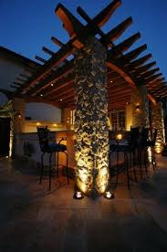 pergola lighting ideas. accent lighting creates the mood gardening and landscaping for outside pergola ideas
