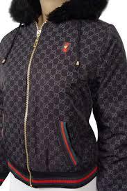 gucci zip up jacket. womens designer clothes   gucci zip up warm hooded jacket #29 view 3 gucci