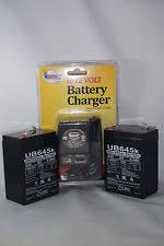 hitachi 6 amp battery. 2 pk 6volt 4.5ah rechargeable sealed 6v 4.5amp battery \u0026 ac charger w led hitachi 6 amp battery 4