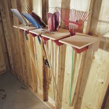 long handled tool rack