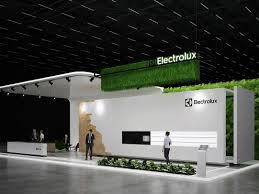 Stand Design Exhibition Stand Design Electrolux By Gm Stand Design On