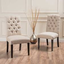 linen dining room chairs olivia natural chair 2 pack house design and furniture of linen dining