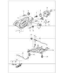 buy porsche 996 911 1997 2005 headlamp parts lens design 911 headlamp direction indicator light 2003 onwards