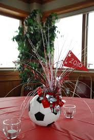 sports ball table centerpieces - Google Search